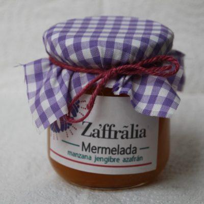 venta de mermelada de manzana, jengibre con azafrán