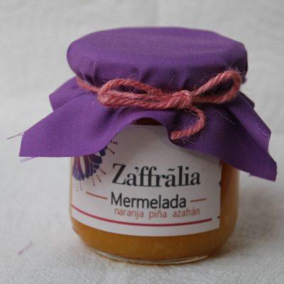 venta de mermelada de naranja y piña con azafrán