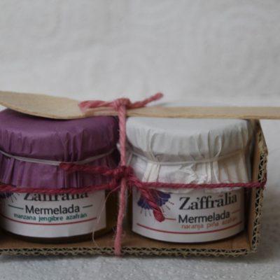 pack degustación mermeladas zaffralia. venta de azafrán 01